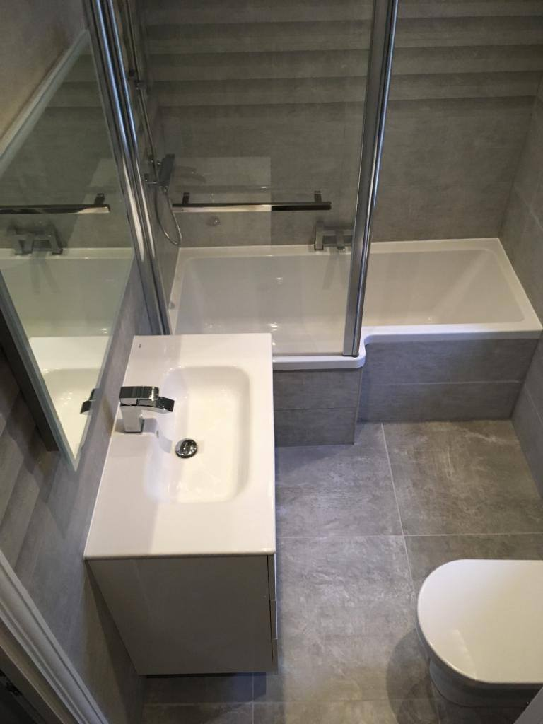 Completed Bathroom Refit in Swansea by Specialist Swansea Plumbers